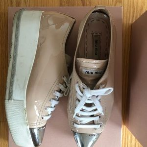 MIUMIU Platform Sneakers